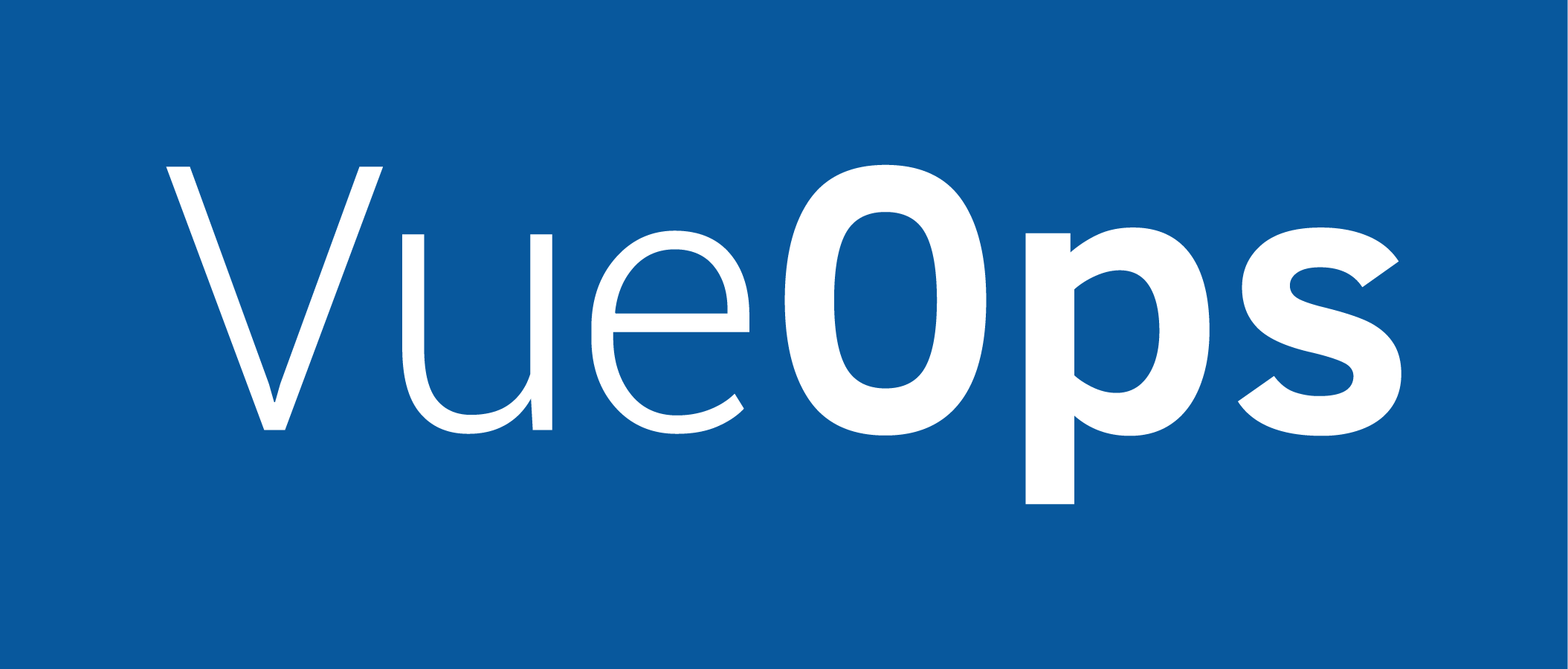Vue Ops Logo Shape Blue